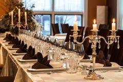 Het dineren met stijl royalty-vrije stock foto