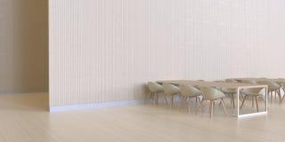 Het dineren minimale bar en muur houten Textuur - moderne luxe en koffie Royalty-vrije Stock Foto