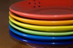 Het dineren regenboog Royalty-vrije Stock Foto