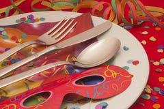 Het Dineren van Carnaval Stock Fotografie