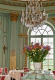 Het Dineren van Chateau stock afbeelding