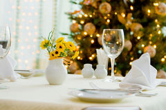 Het dineren van de vakantie royalty-vrije stock foto
