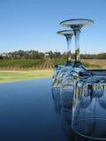Het Dineren van de wijngaard Stock Afbeelding