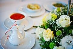 Het Dineren van het restaurant Stock Foto's