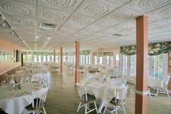 Het Dineren van Upscale Royalty-vrije Stock Fotografie