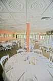 Het Dineren van Upscale Stock Foto