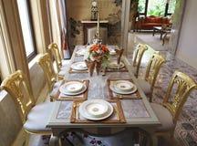 Het dineren zaal Stock Afbeelding