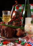 Het dinning van de vakantie #4 Stock Fotografie