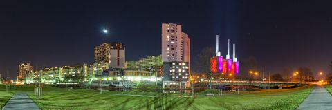 Het district linde-Limmer van Hanover Stock Foto