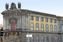 Het district van Carmo, Porto, Portugal Stock Foto