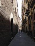 Het district van Gr Gotic van Bacelona Stock Afbeelding