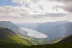 Het District van het meer, Cumbria Royalty-vrije Stock Afbeeldingen
