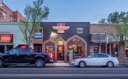 Het district van Inglewood van Calgary stock afbeelding