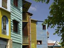 Het district van La Boca van Buenos aires - Argentinië Stock Afbeeldingen