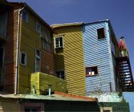 Het district van La Boca van Buenos aires - Argentinië Stock Foto's