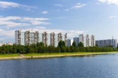 Het district van Moskou stock afbeeldingen