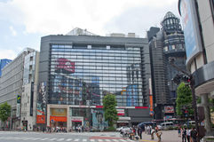 Het district van Shibuya in Tokyo, Japan Royalty-vrije Stock Afbeeldingen