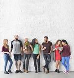 Het diverse Concept van de Groeps Mensen Communautaire Samenhorigheid Royalty-vrije Stock Fotografie