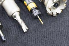 Het diverse type van scherp hulpmiddel voor CNC het machinaal bewerken Stock Afbeeldingen