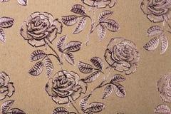 Het document van het bloemenpatroon voor textielbehangpatroon vult van de de drukgift van de dekkingsoppervlakte de omslagsjaal o stock afbeeldingen