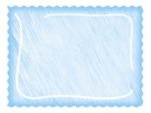 Het document van de brief ligth blauw Stock Afbeeldingen