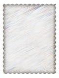 Het document van de brief met textuur Stock Foto