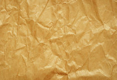 Het document van de Crumpedambacht stock afbeelding