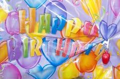 Het document van de decoratie voor verjaardagspartij Stock Afbeelding