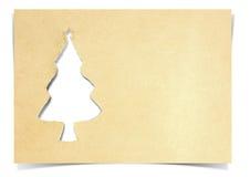 Het document van de kerstboom Royalty-vrije Stock Foto's