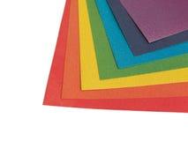 Het document van de kleur Royalty-vrije Stock Afbeelding