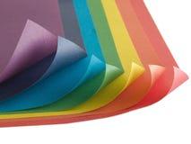 Het document van de kleur Stock Afbeelding