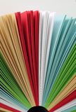 Het document van de kleur Royalty-vrije Stock Fotografie