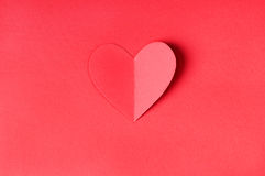 Het document van de origami hart vector illustratie