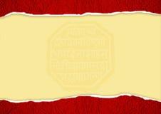Het document van de Textuur van de scheur Royalty-vrije Stock Fotografie