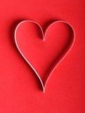 Het document van de valentijnskaart hart Royalty-vrije Stock Afbeeldingen