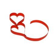 Het document van de valentijnskaart harten Royalty-vrije Stock Afbeeldingen
