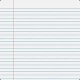 Het Document van de Vuller van het notitieboekje Royalty-vrije Stock Foto's