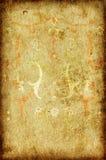 Het document van Grunge met grens Stock Afbeelding