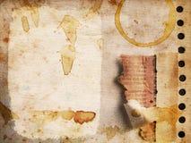 Het document van Grunge textuur nr 2 vector illustratie