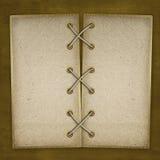 Het document van Grunge voor een album met foto's Stock Afbeeldingen
