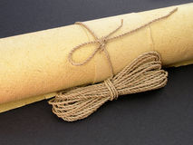 Het Document van het bamboe Royalty-vrije Stock Afbeelding