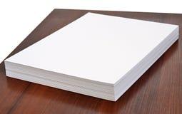 Het document van het bureau Stock Afbeelding