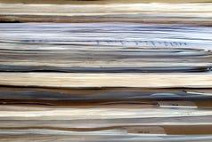 Het document van het bureau documenten Royalty-vrije Stock Afbeeldingen