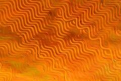 Het Document van het deeg: Oranje Lijnen Stock Afbeelding