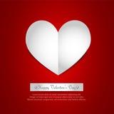 Het Document van het hart royalty-vrije illustratie
