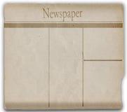 Het document van het nieuws royalty-vrije illustratie