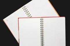Het document van het notitieboekje Royalty-vrije Stock Foto