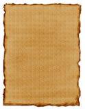 Het Document van het perkament Stock Foto