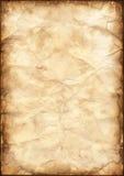 Het document van het perkament achtergrond Royalty-vrije Stock Fotografie