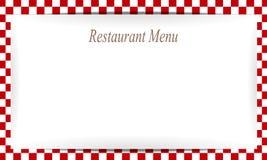 Het document van het restaurantmenu achtergrond Royalty-vrije Stock Afbeelding